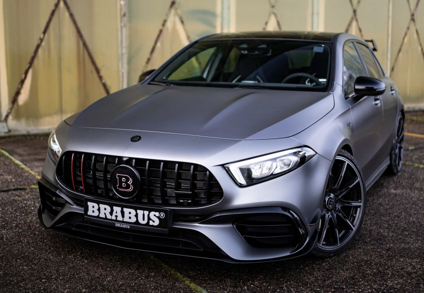 Brabus B45 debuts – tuned Mercedes-AMG A45S with 450 PS and 550 Nm; 0-100 km/h in just 3.7 seconds Image #1241013