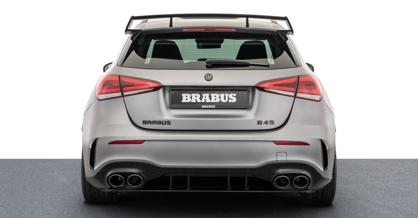 Brabus B45 debuts – tuned Mercedes-AMG A45S with 450 PS and 550 Nm; 0-100 km/h in just 3.7 seconds Image #1240972