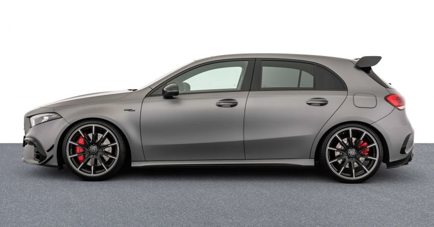 Brabus B45 debuts – tuned Mercedes-AMG A45S with 450 PS and 550 Nm; 0-100 km/h in just 3.7 seconds Image #1240973