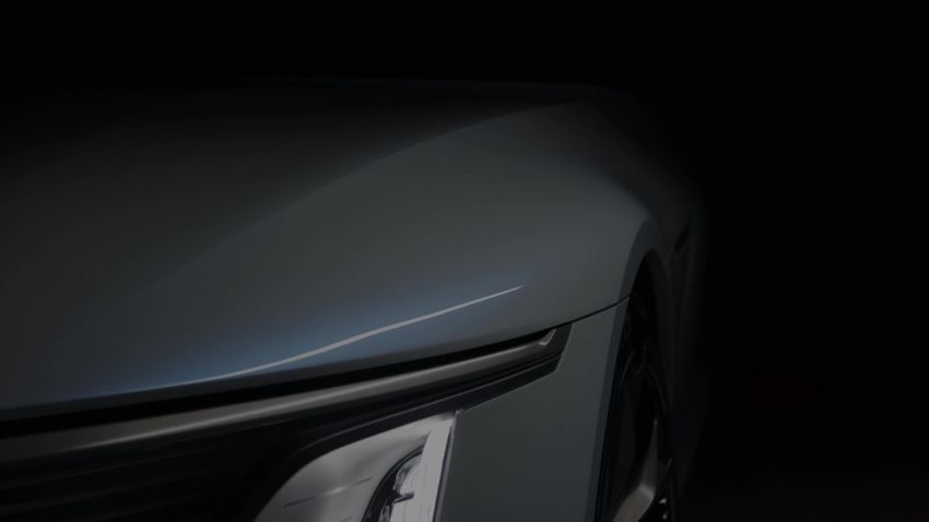 Cadillac Celestiq EV sedan teased at this year's CES Image #1234865