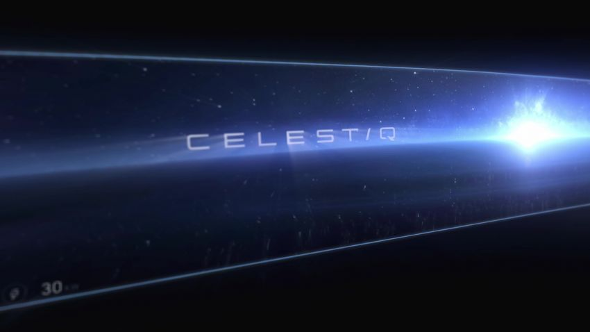 Cadillac Celestiq EV sedan teased at this year's CES Image #1234874