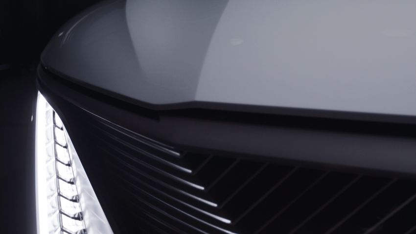 Cadillac Celestiq EV sedan teased at this year's CES Image #1234869