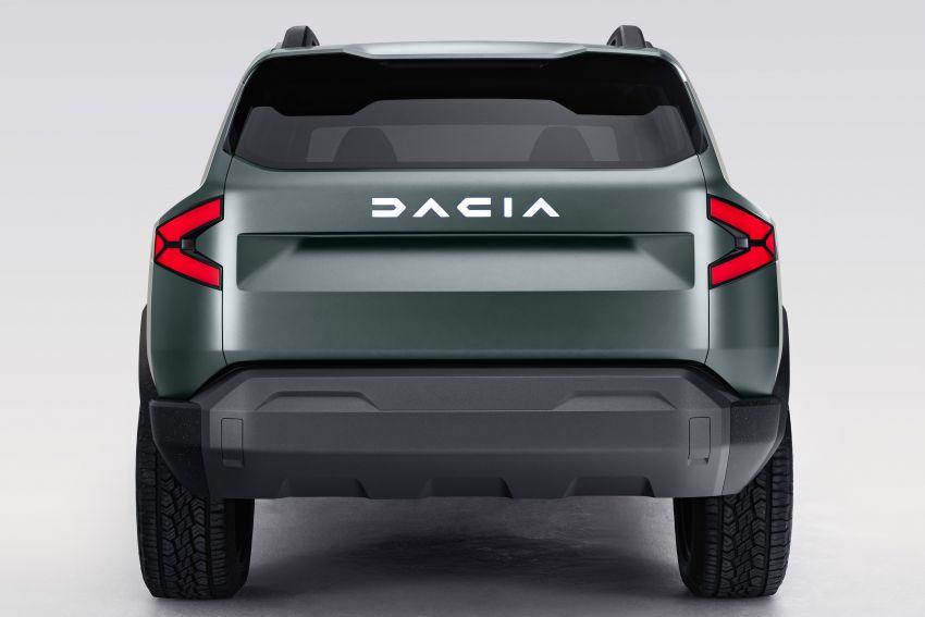 Dacia Bigster Concept debuts – rugged, hybrid C-SUV Image #1235389