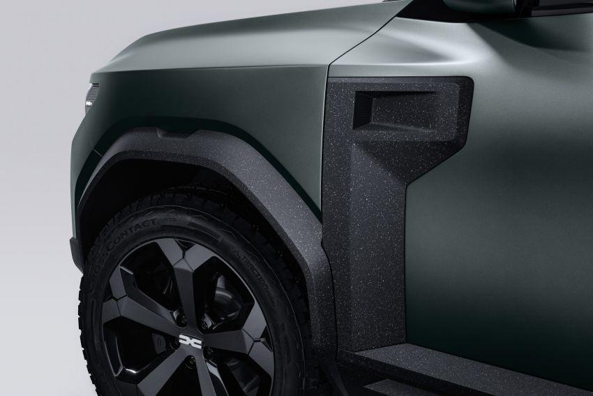 Dacia Bigster Concept debuts – rugged, hybrid C-SUV Image #1235380