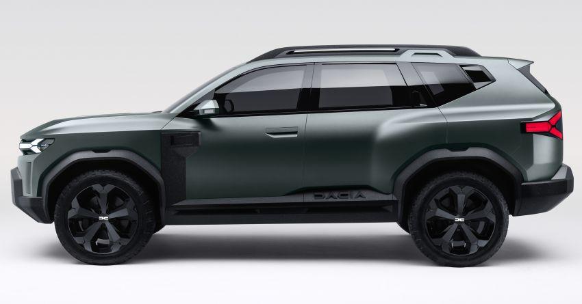 Dacia Bigster Concept debuts – rugged, hybrid C-SUV Image #1235383