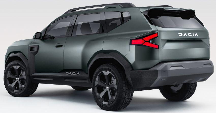 Dacia Bigster Concept debuts – rugged, hybrid C-SUV Image #1235384