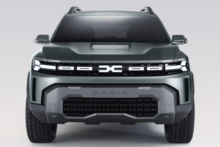 Dacia Bigster Concept debuts – rugged, hybrid C-SUV Image #1235386
