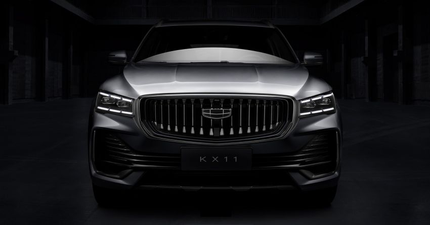 Geely KX11 seven-seat SUV revealed – carmaker's third CMA-based model launching later this year Image #1235157
