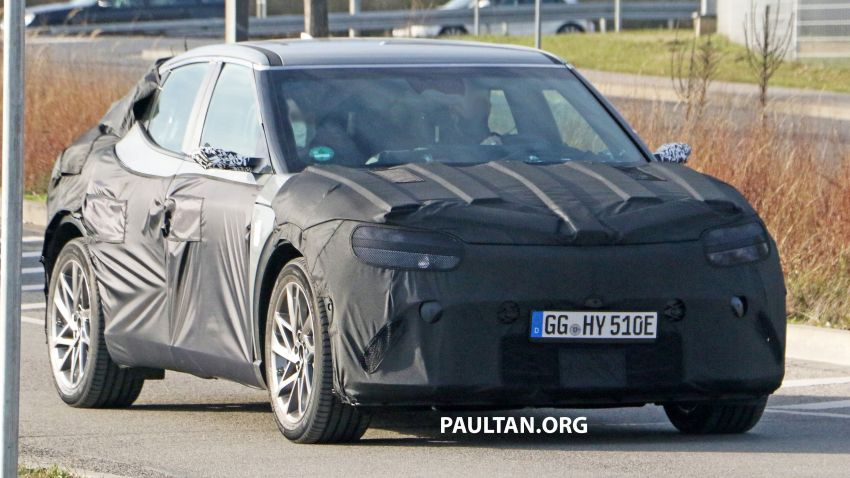 SPIED: Genesis electric crossover due later this year Image #1241918