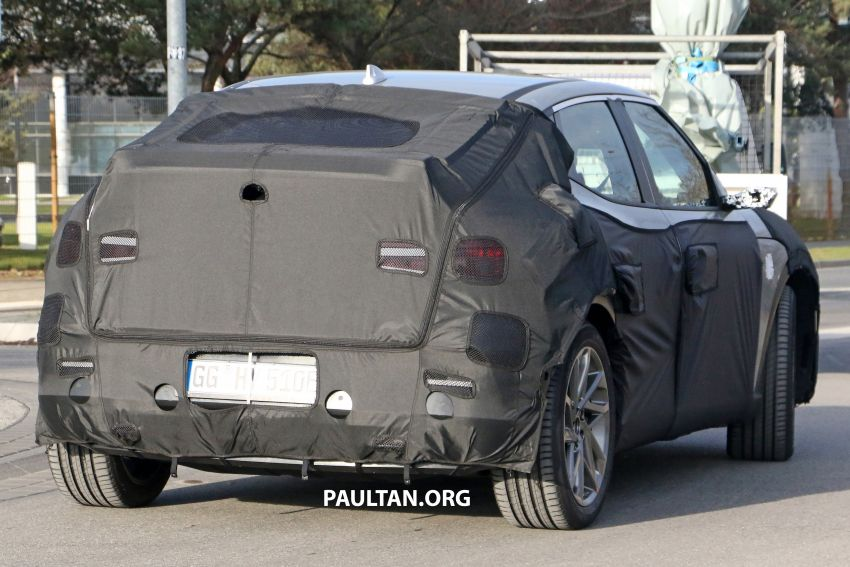 SPIED: Genesis electric crossover due later this year Image #1241937