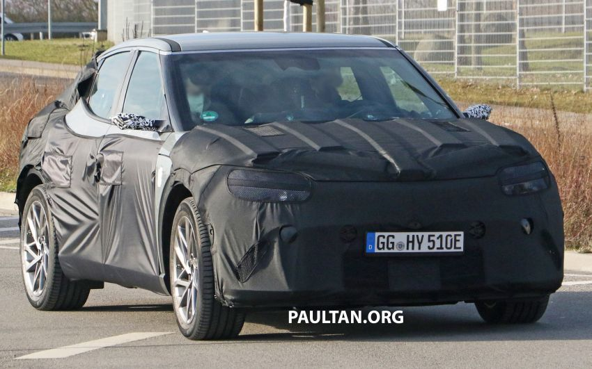 SPIED: Genesis electric crossover due later this year Image #1241925