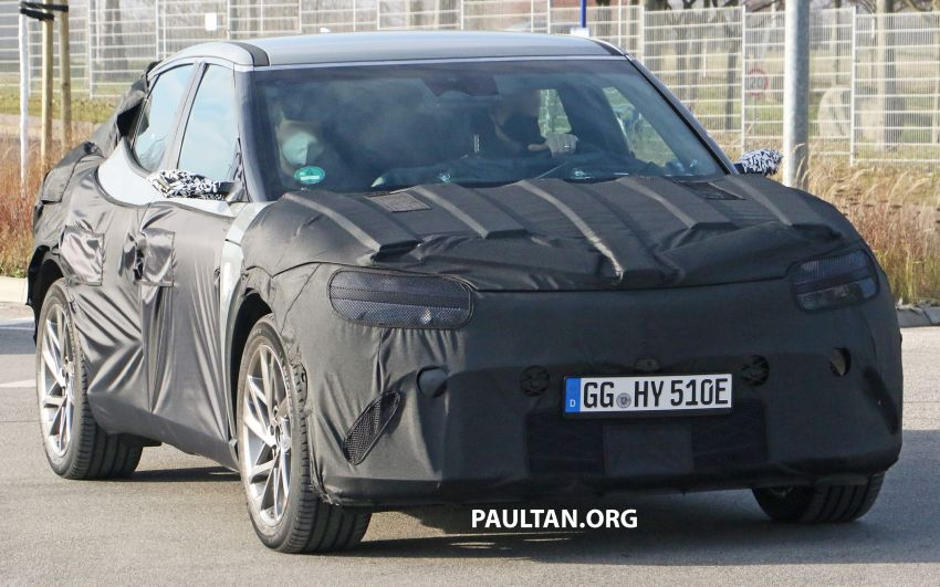 SPIED: Genesis electric crossover due later this year Image #1241926