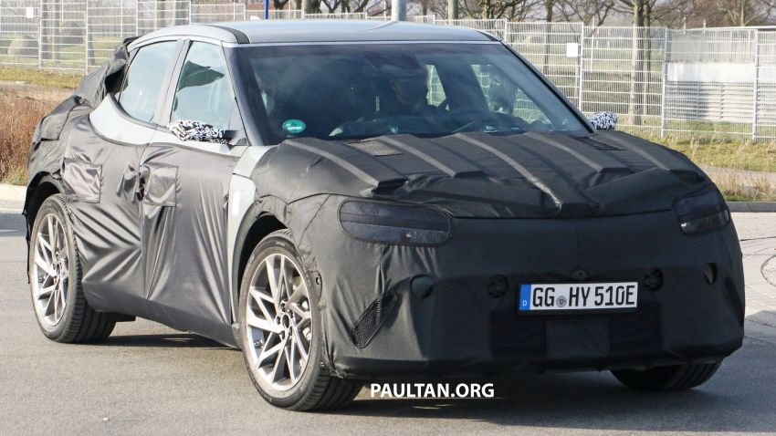 SPIED: Genesis electric crossover due later this year Image #1241928