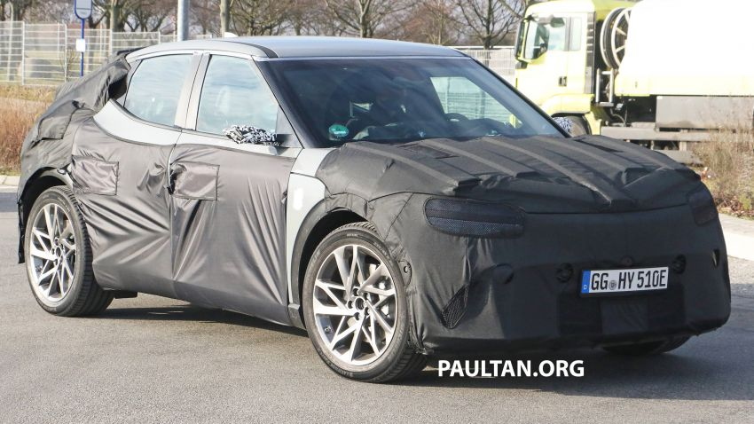 SPIED: Genesis electric crossover due later this year Image #1241930