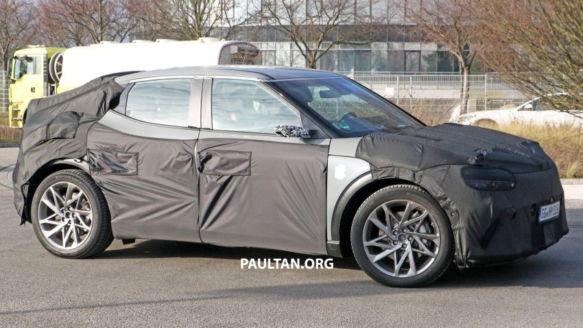 SPIED: Genesis electric crossover due later this year Image #1241931