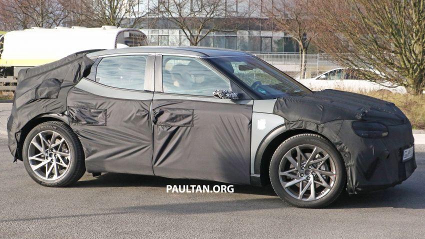 SPIED: Genesis electric crossover due later this year Image #1241933