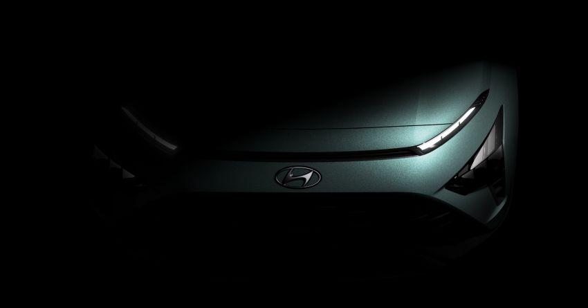 Hyundai Bayon teased – European launch in Q1 2021 Image #1237185
