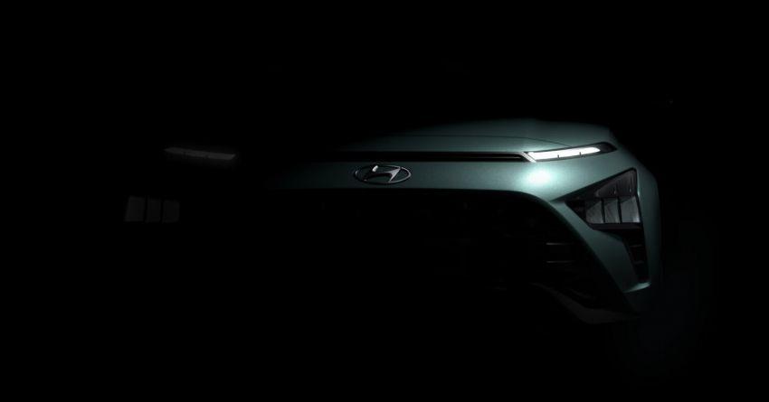 Hyundai Bayon teased – European launch in Q1 2021 Image #1237187