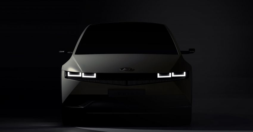 Hyundai Ioniq 5 teased ahead of February debut – 3.5 kW V2L tech for power supply, ultra-fast charging Image #1234224