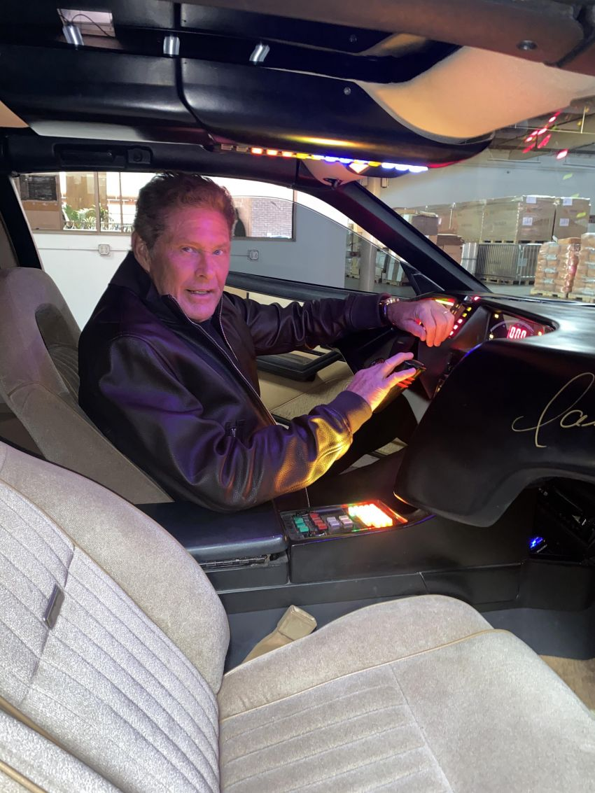 David Hasselhoff's personal KITT car is up for auction Image #1231378