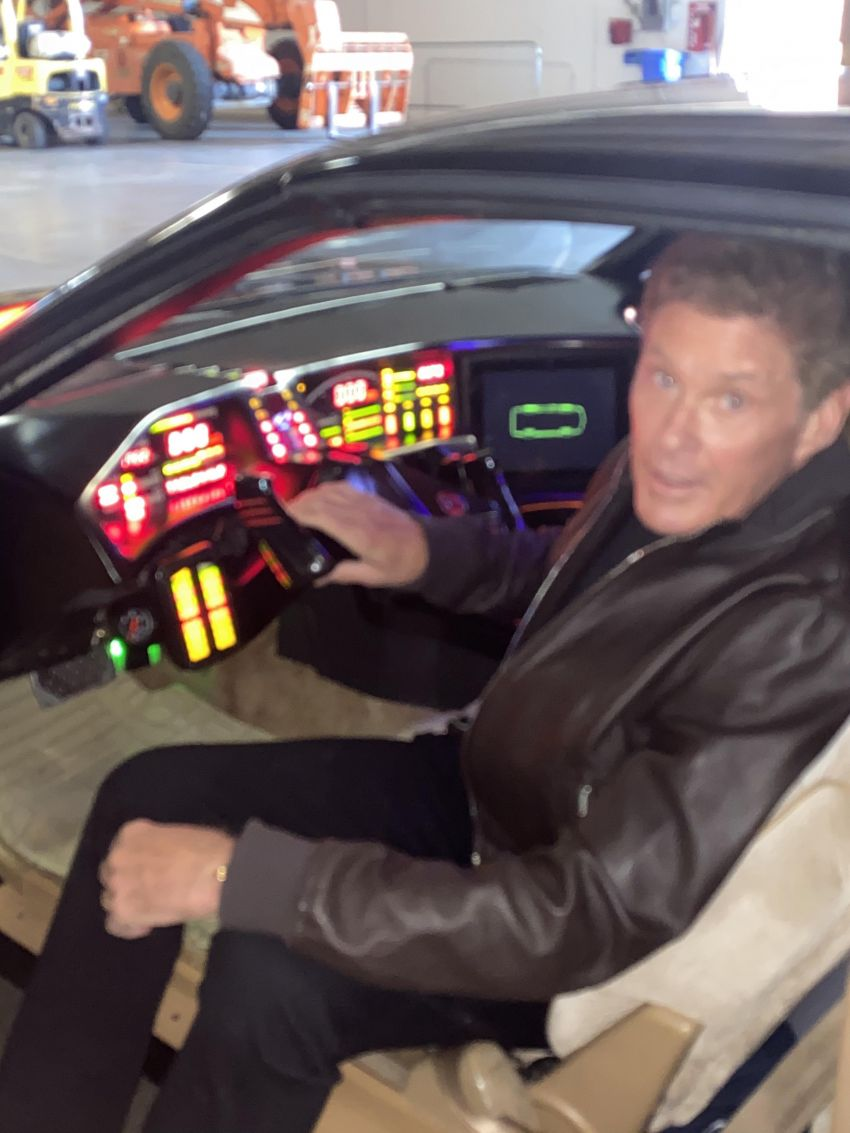 David Hasselhoff's personal KITT car is up for auction Image #1231379