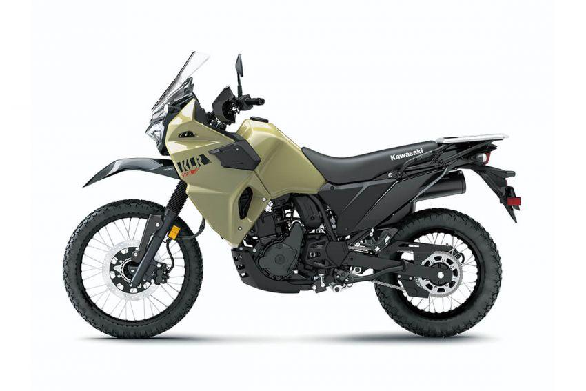 Kawasaki KLR 650 2021 – beberapa bahagian terima peningkatan, ciri lasak yang digemari dikekalkan Image #1240857