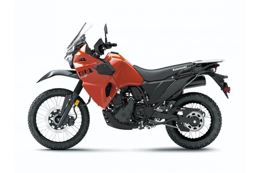 Kawasaki KLR 650 2021 – beberapa bahagian terima peningkatan, ciri lasak yang digemari dikekalkan Image #1240854