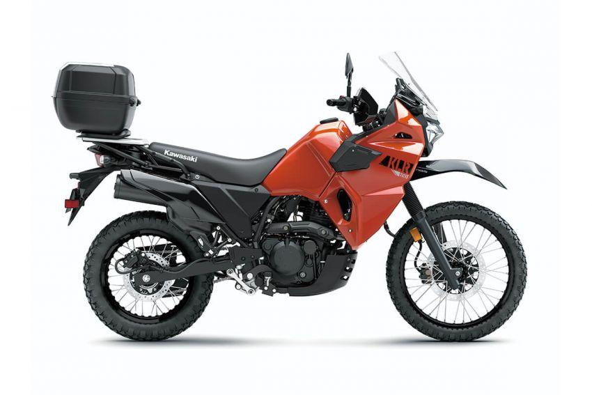 Kawasaki KLR 650 2021 – beberapa bahagian terima peningkatan, ciri lasak yang digemari dikekalkan Image #1240865