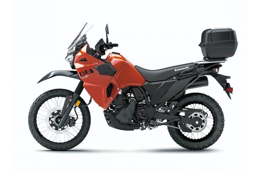 Kawasaki KLR 650 2021 – beberapa bahagian terima peningkatan, ciri lasak yang digemari dikekalkan Image #1240867