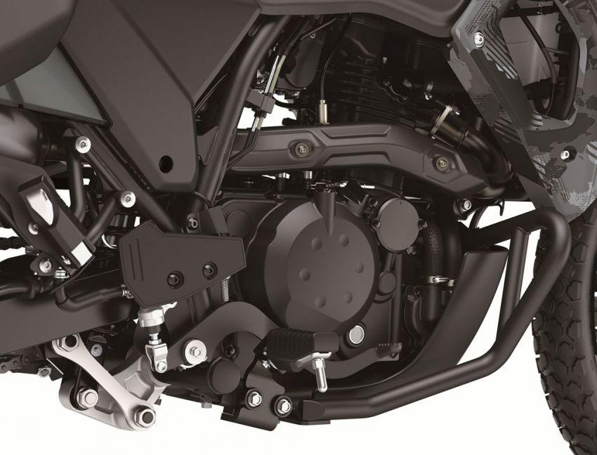 Kawasaki KLR 650 2021 – beberapa bahagian terima peningkatan, ciri lasak yang digemari dikekalkan Image #1240838