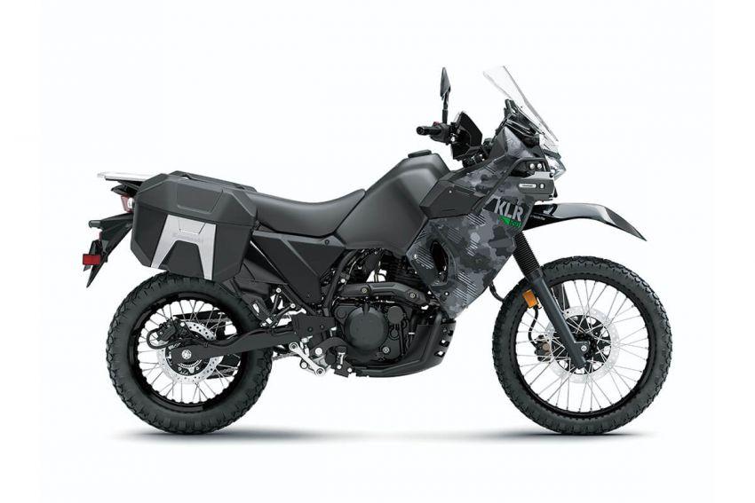 Kawasaki KLR 650 2021 – beberapa bahagian terima peningkatan, ciri lasak yang digemari dikekalkan Image #1240860