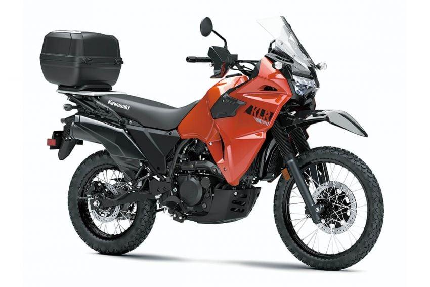 Kawasaki KLR 650 2021 – beberapa bahagian terima peningkatan, ciri lasak yang digemari dikekalkan Image #1240866