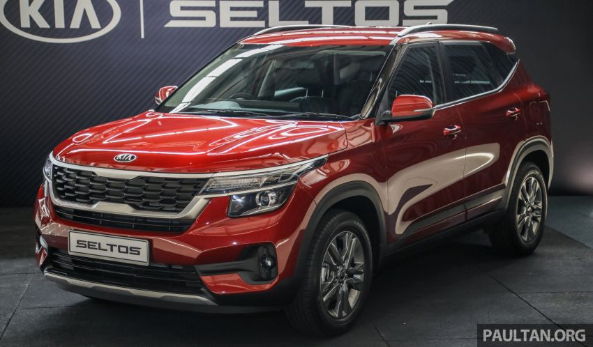 Kia Seltos SUV launched in Malaysia – EX and GT Line, 123 PS/151 Nm 1.6L NA engine, RM116k to RM134k Image #1231283
