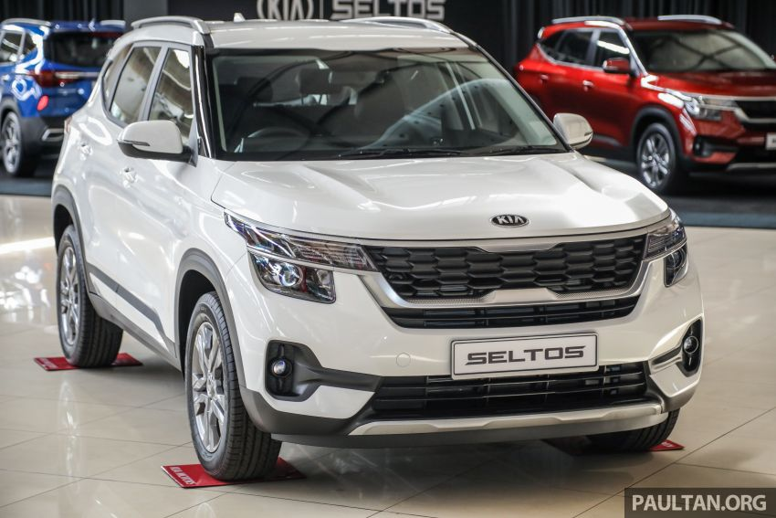 Kia Seltos SUV launched in Malaysia – EX and GT Line, 123 PS/151 Nm 1.6L NA engine, RM116k to RM134k Image #1231310