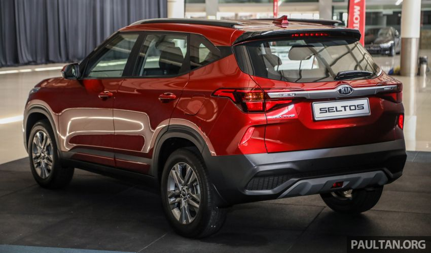 Kia Seltos SUV launched in Malaysia – EX and GT Line, 123 PS/151 Nm 1.6L NA engine, RM116k to RM134k Image #1231284