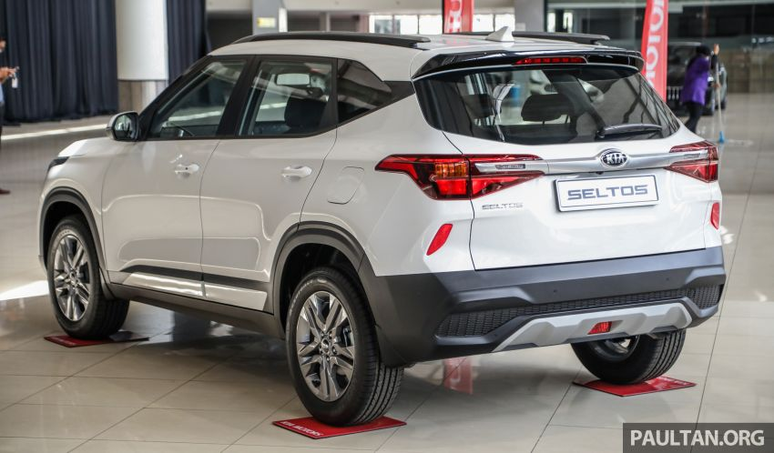 Kia Seltos SUV launched in Malaysia – EX and GT Line, 123 PS/151 Nm 1.6L NA engine, RM116k to RM134k Image #1231313