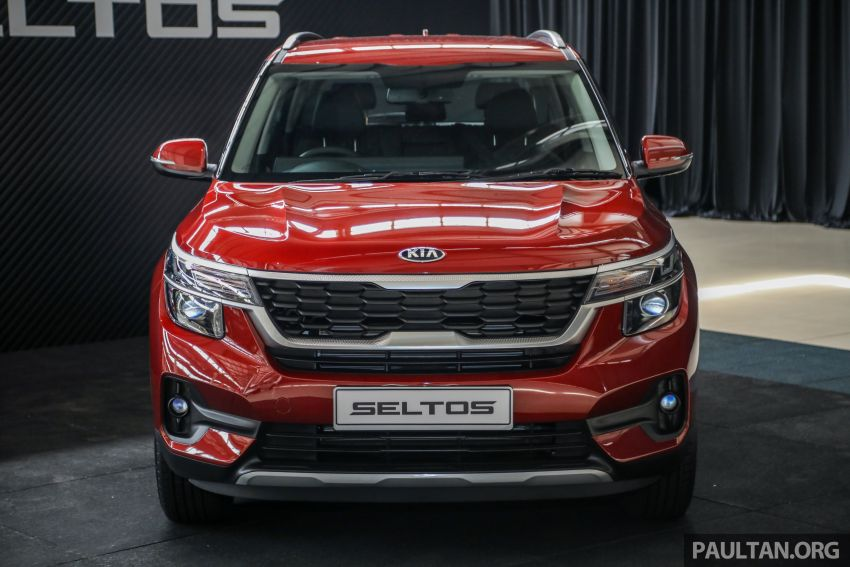 Kia Seltos SUV launched in Malaysia – EX and GT Line, 123 PS/151 Nm 1.6L NA engine, RM116k to RM134k Image #1231285