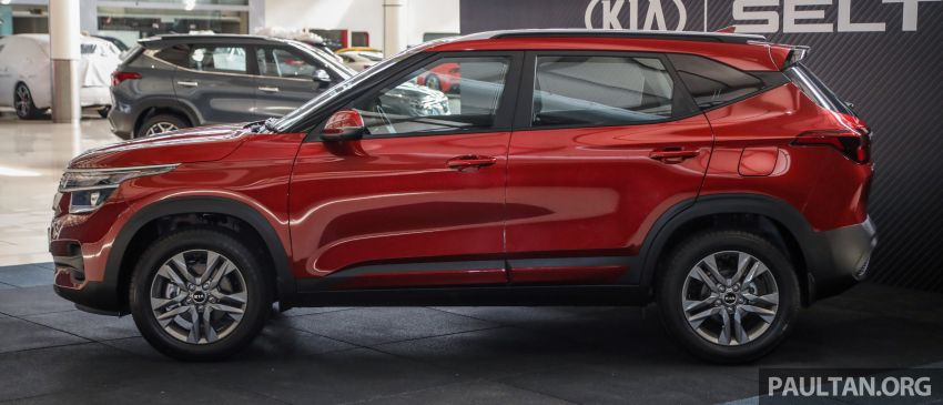 Kia Seltos SUV launched in Malaysia – EX and GT Line, 123 PS/151 Nm 1.6L NA engine, RM116k to RM134k Image #1231286