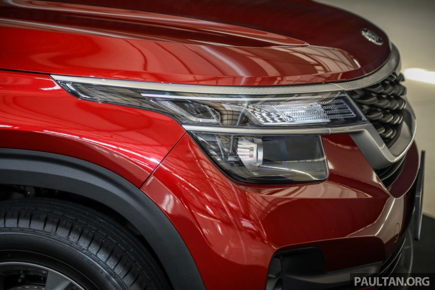 Kia Seltos SUV launched in Malaysia – EX and GT Line, 123 PS/151 Nm 1.6L NA engine, RM116k to RM134k Image #1231289