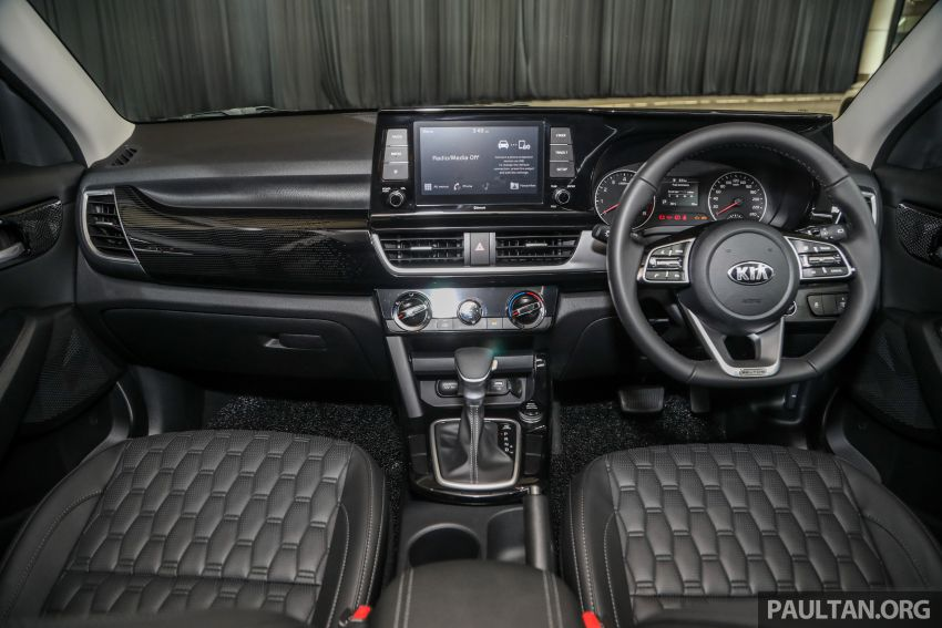 Kia Seltos SUV launched in Malaysia – EX and GT Line, 123 PS/151 Nm 1.6L NA engine, RM116k to RM134k Image #1231321
