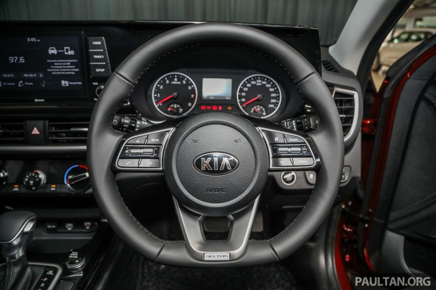 Kia Seltos SUV launched in Malaysia – EX and GT Line, 123 PS/151 Nm 1.6L NA engine, RM116k to RM134k Image #1231322