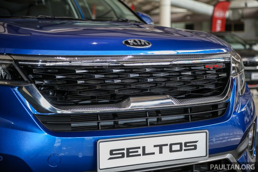 Kia Seltos SUV launched in Malaysia – EX and GT Line, 123 PS/151 Nm 1.6L NA engine, RM116k to RM134k Image #1231191
