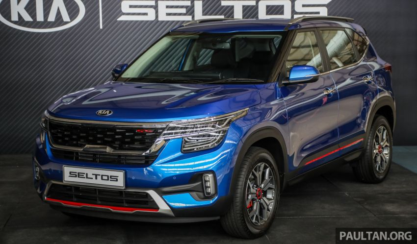 Kia Seltos SUV launched in Malaysia – EX and GT Line, 123 PS/151 Nm 1.6L NA engine, RM116k to RM134k Image #1231181