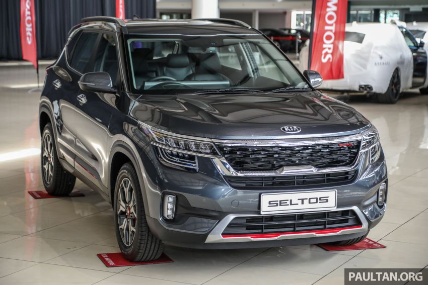 Kia Seltos SUV launched in Malaysia – EX and GT Line, 123 PS/151 Nm 1.6L NA engine, RM116k to RM134k Image #1231211