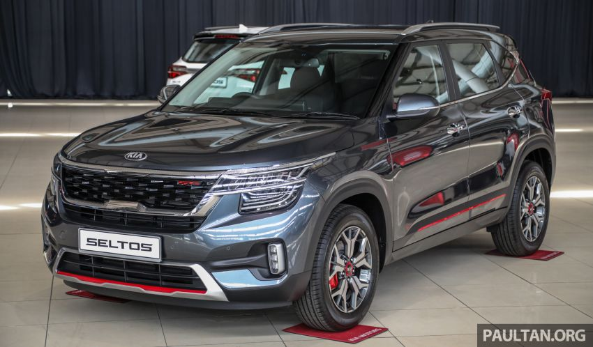 Kia Seltos SUV launched in Malaysia – EX and GT Line, 123 PS/151 Nm 1.6L NA engine, RM116k to RM134k Image #1231212