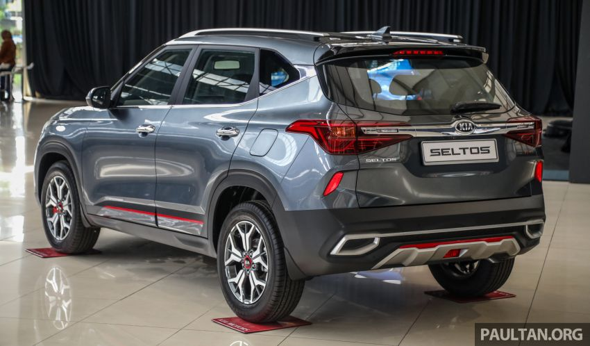 Kia Seltos SUV launched in Malaysia – EX and GT Line, 123 PS/151 Nm 1.6L NA engine, RM116k to RM134k Image #1231213