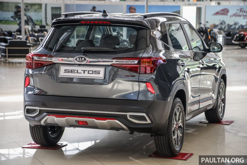 Kia Seltos SUV launched in Malaysia – EX and GT Line, 123 PS/151 Nm 1.6L NA engine, RM116k to RM134k Image #1231214