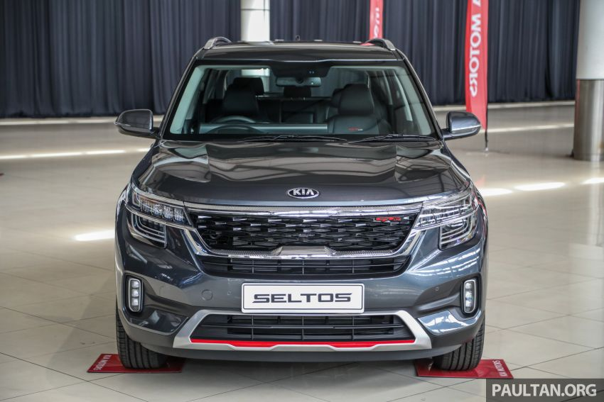Kia Seltos SUV launched in Malaysia – EX and GT Line, 123 PS/151 Nm 1.6L NA engine, RM116k to RM134k Image #1231215