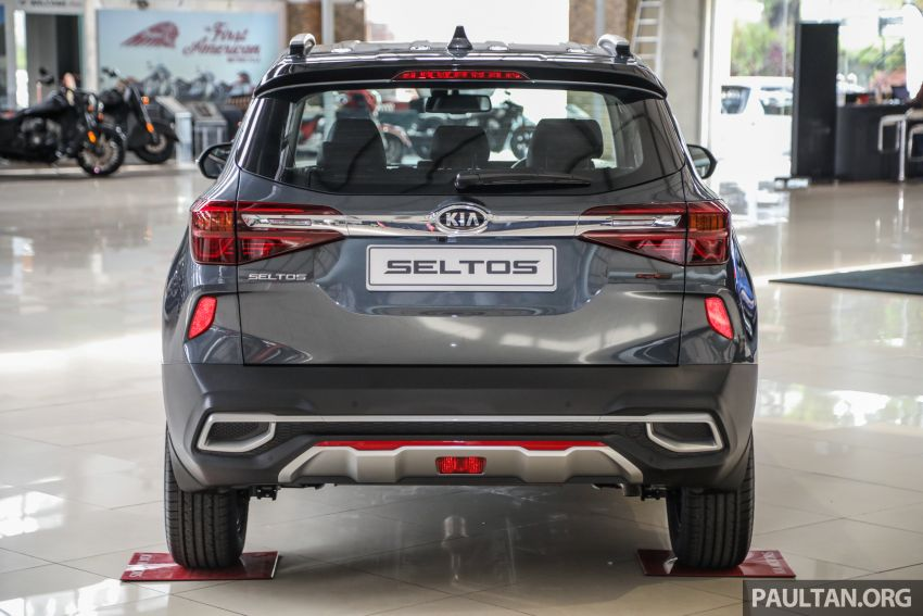 Kia Seltos SUV launched in Malaysia – EX and GT Line, 123 PS/151 Nm 1.6L NA engine, RM116k to RM134k Image #1231216