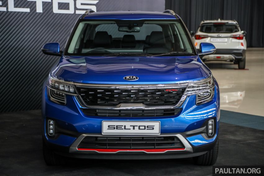 Kia Seltos SUV launched in Malaysia – EX and GT Line, 123 PS/151 Nm 1.6L NA engine, RM116k to RM134k Image #1231183